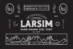 LARSIM Display Font Product Image 1