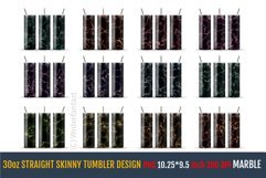 30oz STRAIGHT Skinny Tumbler Sublimation, Templates. Product Image 6