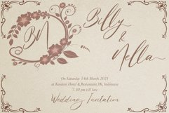Belastine // Wedding Script Font Product Image 4