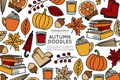 Autumn Doodle Cliparts Product Image 1