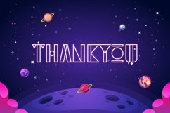Foxnout - Space Display Font Product Image 2