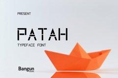 Patah Font Product Image 1