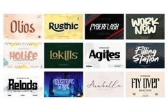 Mega Exclusive Font Bundle - 350 Font Product Image 30