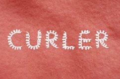 Curler handwritten font Product Image 1