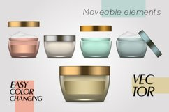 Vector realistic bottles set collection mockup pt.3 Product Image 2