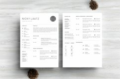 Clean Resume Template - Simple & Professional CV Template Product Image 4