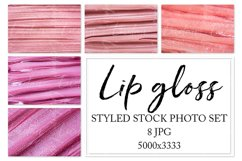 Lip gloss. Styled stock photo set. Product Image 1