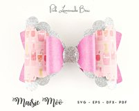 Bow Bundle Template SVG, Spring Bow SVG, Faux Leather Bow Product Image 4