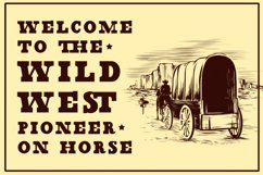 Wild Justice - Western Display Font Product Image 3