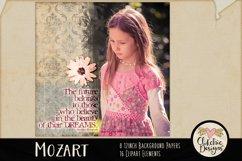 Digital Scrapbook Kit, Music Scrapbooking clipart Product Image 6