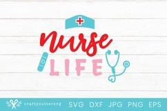 Nursing Life Svg File  Medical Worker Heroes Shirt Product Image 2