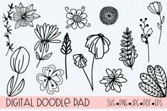 Floral Doodle Bundle Silhouette and Cricut Product Image 5