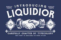 Liquidior Font Product Image 1