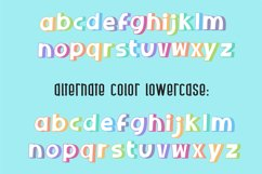 Sherbet Shadow SVG Font Duo Product Image 5