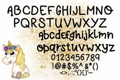 Four Fun Font Bundle Product Image 7