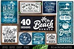 Beach Bundle SVG 40 designs Summer SVG bundle Product Image 3
