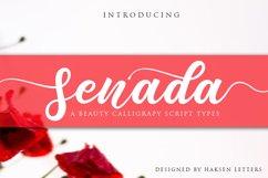 Senada Beauty Script Handwritten Product Image 1