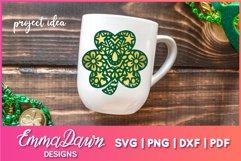 St PATRICK'S DAY CLOVER SVG BUNDLE 6 DESIGNS Product Image 6