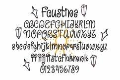Web Font Faustina - Swirly Children Font Product Image 5