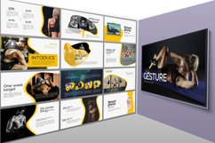 Gesture Athletics Powerpoint Template Product Image 5