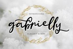 Gabrielly - Elegant Script Font Product Image 1