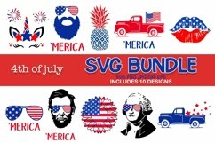 4th of july svg bundle, 4th of July svg Product Image 1