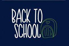 Teacher Doodles - A Dingbat Back To School Font  Product Image 4