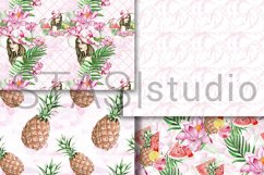 Summer Fashion Paper Pack Digital Seamless Patterns Planner Product Image 2