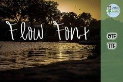 SCI_Flow Font Product Image 1
