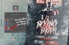 Boxing Brutal Flyer Product Image 3