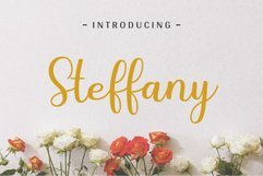 Steffany - Handwriting Font Product Image 1
