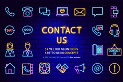 Contact Us Neon Product Image 1