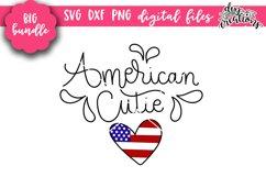 Huge 4th of July Bundle - SVG DXF PNG Clipart Product Image 6