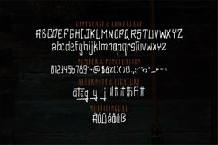 Web Font Olympia - Scary Brush Font Product Image 4