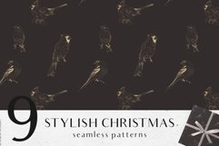 Christmas digital papers - Winter seamless patterns Product Image 5