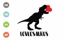 Dinosaur Svg, Valentine Svg File Product Image 1