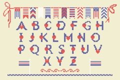 LOVELY-DAY-COLOR-CROSSSTICH OTF-SVG  multicolor font Product Image 2