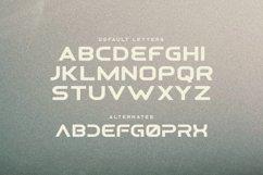 Osiris - Futuristic Font Product Image 2