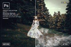 Smoke backgrounds & Smoke bomb overlay, Photoshop overlay Product Image 4