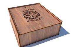 Tea Box-Laser cutting file Product Image 4