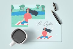 Girl on the beach Product Image 2