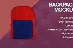 Backpack Mockup Product Image 5