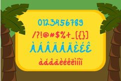 Dejuno Playful Display Typeface Product Image 5