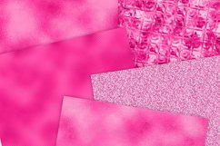 Hot Pink Foil Textures Digital Paper Product Image 4