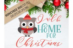 Owl Be Home For Christmas Product Image 1