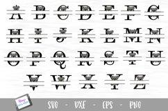Animal Monogram Bundle - 6 Sets of Animal Split Letters A-Z Product Image 2