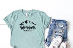 Adventure Awaits- Camping Shirts SVG Product Image 2