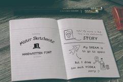 Mister Sketchnote Handwritten Font Product Image 2