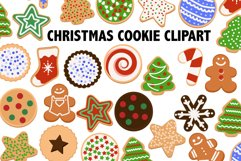 Christmas Cookie Clipart Product Image 1