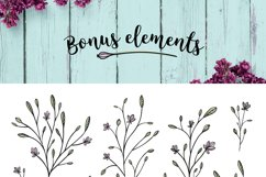 Nature & floral logos + BONUS Product Image 6